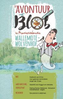 Op avontuur met Blob in Provinciedomein Wallemote - Wolvenhof