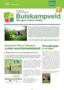 Infokrant Landschapspark Bulskampveld
